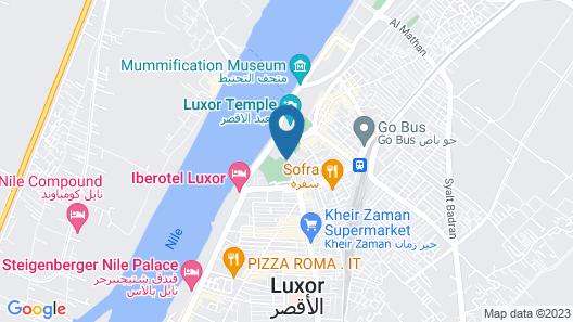 Pavillon Winter Luxor Map