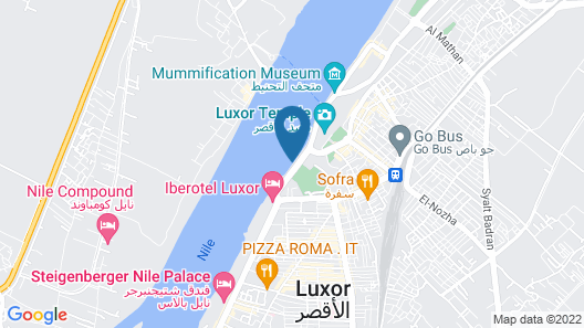 Steigenberger Regency Nile Cruise - From Luxor for 07 Nights every Thursday and Saturday - From Aswan for 03 Nights every Monday Map