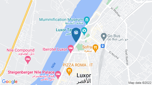 Steigenberger Legacy Nile Cruise - Every Monday from Luxor for 07 & 04 Nights - Every Friday From Aswan for 03 Nights Map