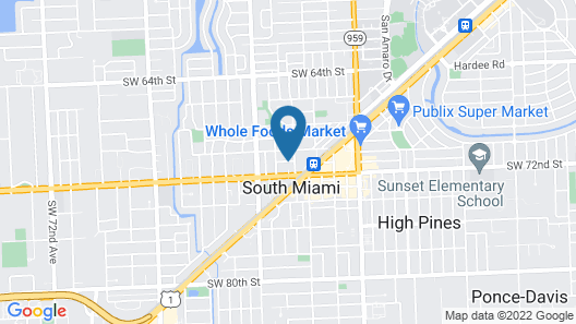 Rodeway Inn South Miami Coral Gables Map