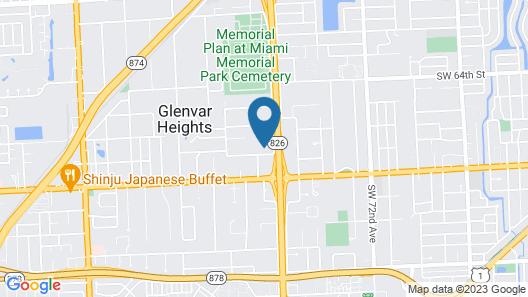 La Finca Miami by SoFla Vacations Map