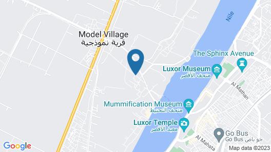 Cleopatra Hotel Luxor Map