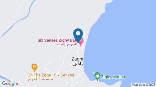 Six Senses Zighy Bay Map