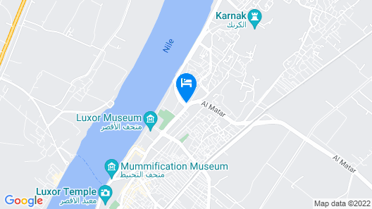 Rezeiky Hotel And Camp Luxor Map