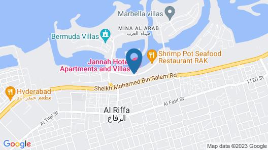 Jannah Hotel Apartments & Villas Map