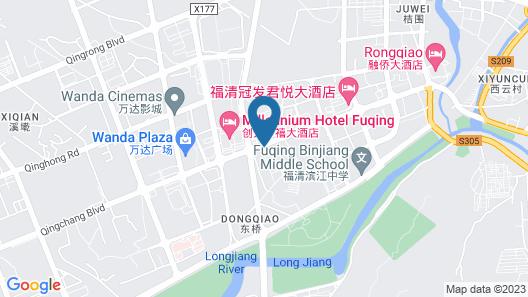 Rui Xin Hotel - Fuqing Map