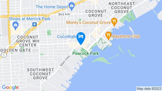 Mr. C Miami – Coconut Grove Map