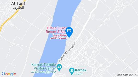 Hilton Luxor Resort & Spa Map