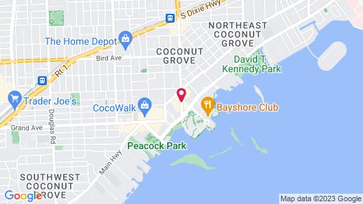 The Ritz-Carlton Coconut Grove, Miami Map