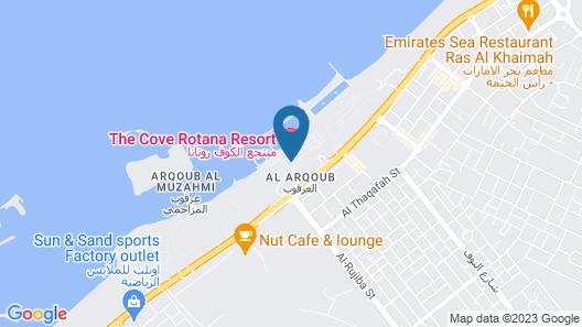The Cove Rotana Resort Map