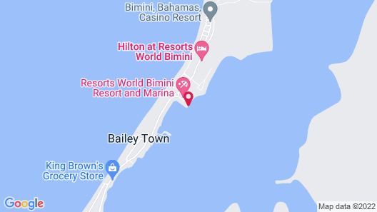 2/2 Condo/great Location/new 40' Boat Slip @ Resorts World Bimini Bay! Free Wifi Map