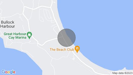 Villas Edge Beach Villa, Great Harbour Cay Map