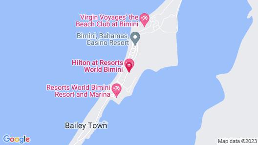 Hilton At Resorts World Bimini Map