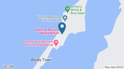 Hilton At Resorts World Bimini Map