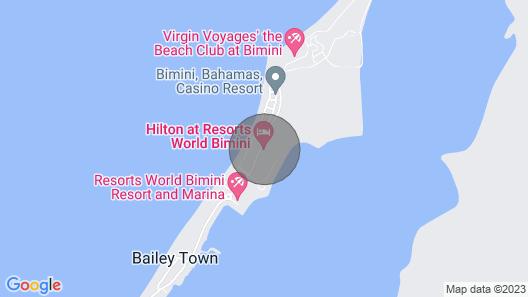 Ocean View Bimini Bay Resort 2 Bedroom Apartment Map