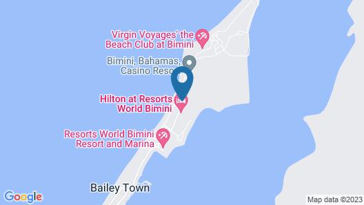 Resorts World Bimini Map