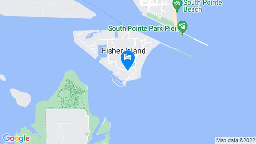 Fisher Island Club and Resort Map