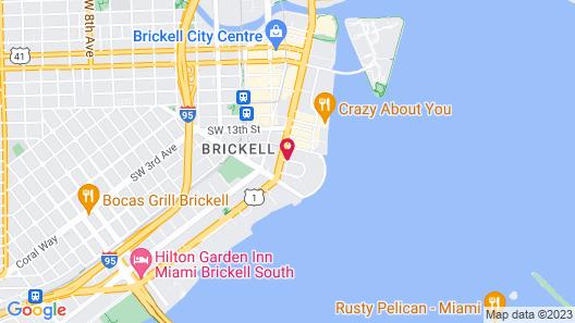 Four Seasons Hotel Miami Map