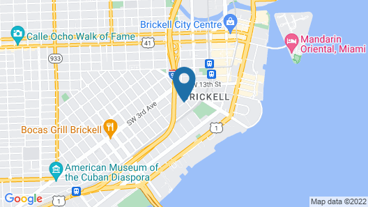 Habitat Brickell by Sextant Map