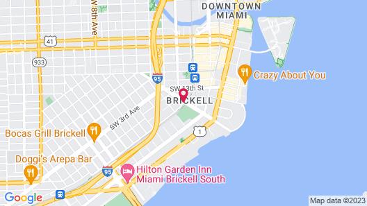 Novotel Miami Brickell Map