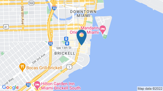 JW Marriott Miami Map
