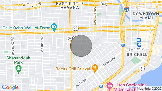 Private Charming Guesthouse in Little Havana Map