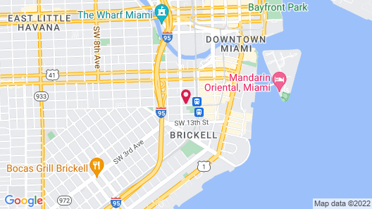 Hotel Indigo Miami Brickell, an IHG Hotel Map