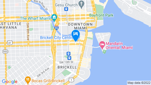 EAST Miami Map