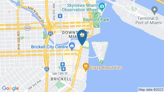 W Miami Map