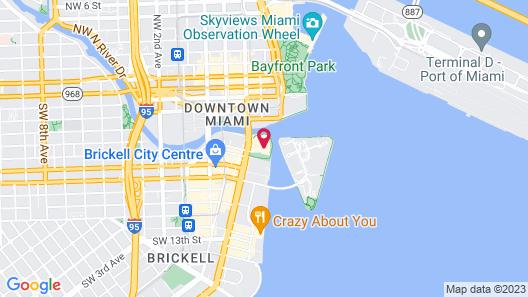 Icon Brickell - Downtown Miami Map