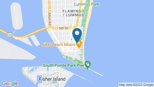 Marriott Stanton South Beach Map