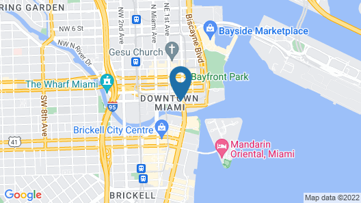Hyatt Regency Miami Map