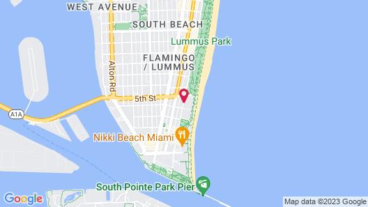 The Savoy Hotel & Beach Club Map