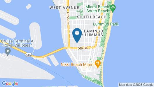 Luxury Miami Beach Apartments By Michigan Map