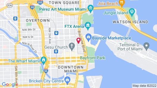 The Guild Downtown - X Miami Map