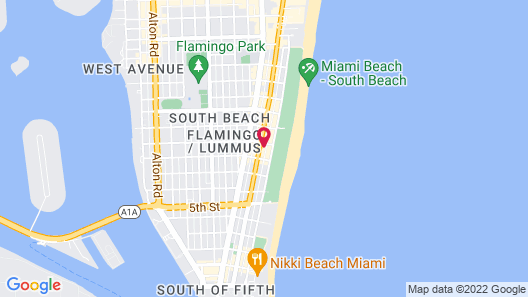 Chesterfield Hotel & Suites, a South Beach Group Hotel Map