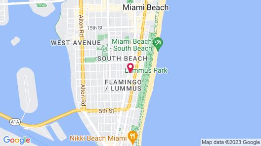 Moxy Miami South Beach Map