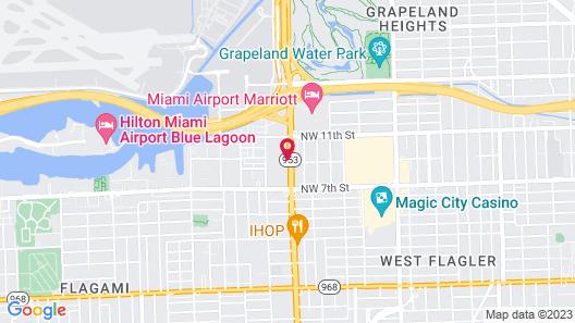 Sonesta Miami Airport Map
