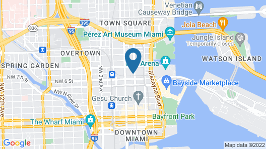 Mint House Downtown Miami Map