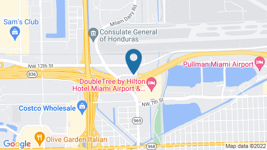 Days Inn by Wyndham Miami International Airport Map