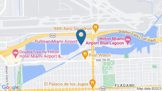 Pullman Miami Airport Map