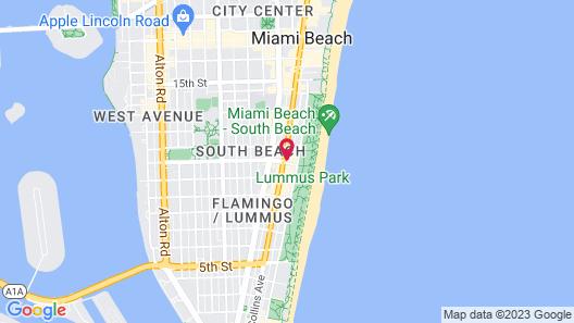 Dream South Beach Map