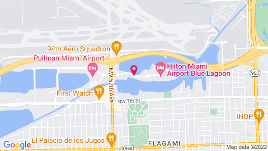 Homewood Suites by Hilton Miami-Airport/Blue Lagoon Map