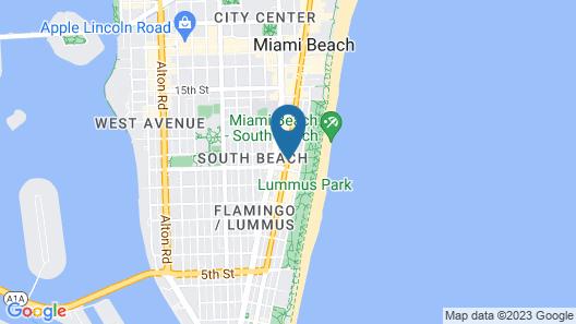 Ocean Reef Suites, South Beach Map