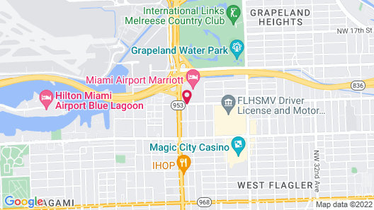 Fairfield Inn & Suites by Marriott Miami Airport South Map