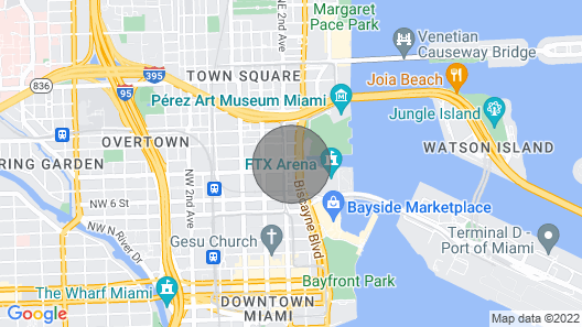 Stunning Miami Apartment With Ocean View Map