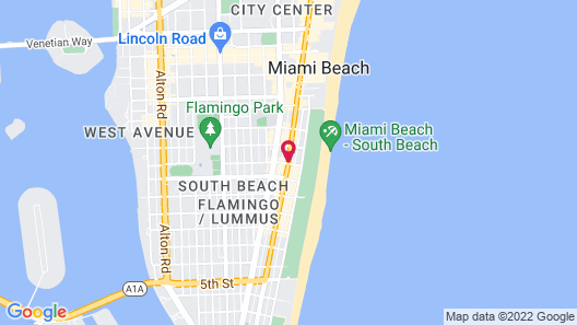 The Marlin Hotel Map
