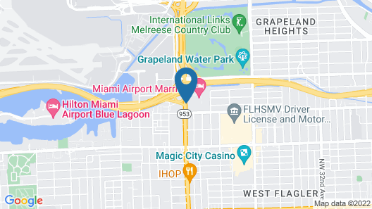 Residence Inn by Marriott Miami Airport Map