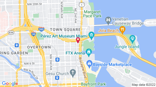 The Gabriel Miami, Curio Collection by Hilton Map