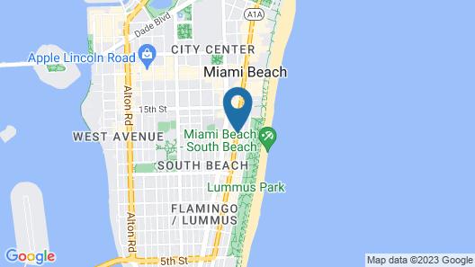 South Beach Plaza Hotel Map